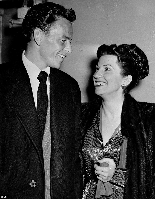 Frank Sinatra's first wife Nancy (pictured with him on October 23, 1946) has died aged 101