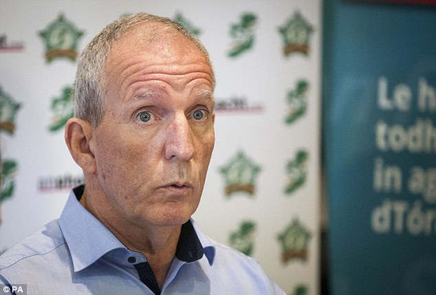The home of Bobby Storey (pictured) was also targeted with an explosive device