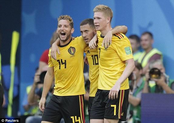 Chấm điểm Bỉ 2-0 Anh: Người cao điểm nhất đủ sức đến Real thay thế Ronaldo ngay lập tức