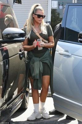 Khloe Kardashian shows off her 33lbs weightloss Woodland Hills, California