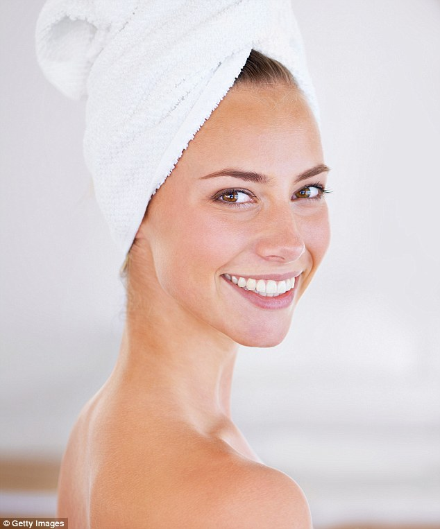 Here, speaking to FEMAIL, dermatologist Dr Natasha Cook shared the exact order you should be applying your skincare products, and the ingredients to never mix (stock image)
