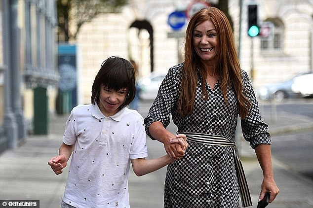 Mr Javid commissioned the review in response to several high profile cases of children being denied medicinal cannabis, including Billy Caldwell, 12 (pictured with his mother Charlotte, who had seven bottles of cannabis oil confiscated at Heathrow Airport customs on June 11)