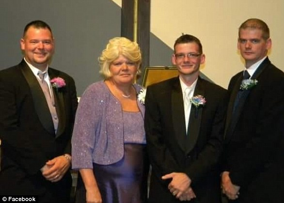Leslie Dennison (second from left) succumbed to save her 12-year-old granddaughter, Alicia.  He is being mourned as a hero