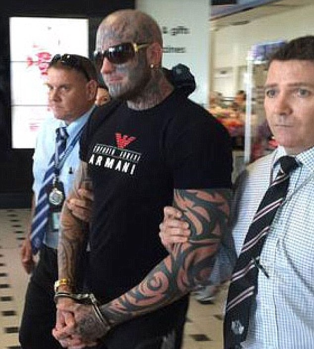 Pechey was arrested at Brisbane airport in 2015 on charges of extortion after months on the run in Thailand