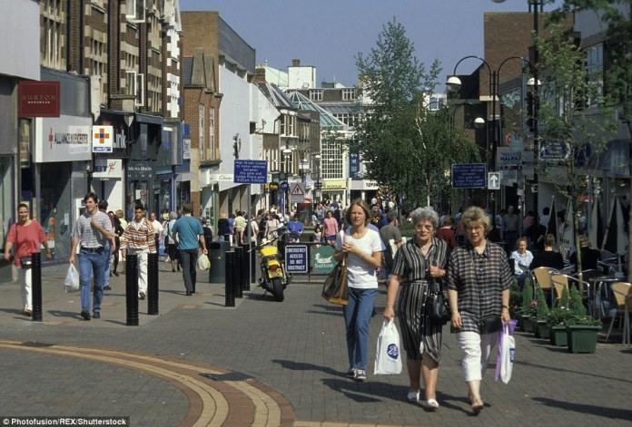 Sutton is a London borough with a bustling high street