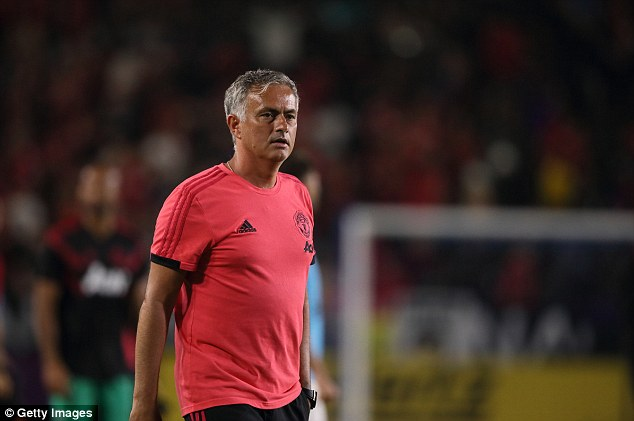 Jose Mourinho knows he must offload one of United's five central defenders before he can buy