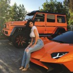 Kylie Jenner shows off her 'Just for summer' whip