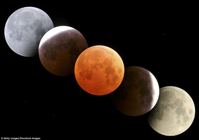 On the same night of the longest lunar eclipse of the 21st century, where the moon will turn blood red, Mars will also be brighter and bigger than it has been for 15 years