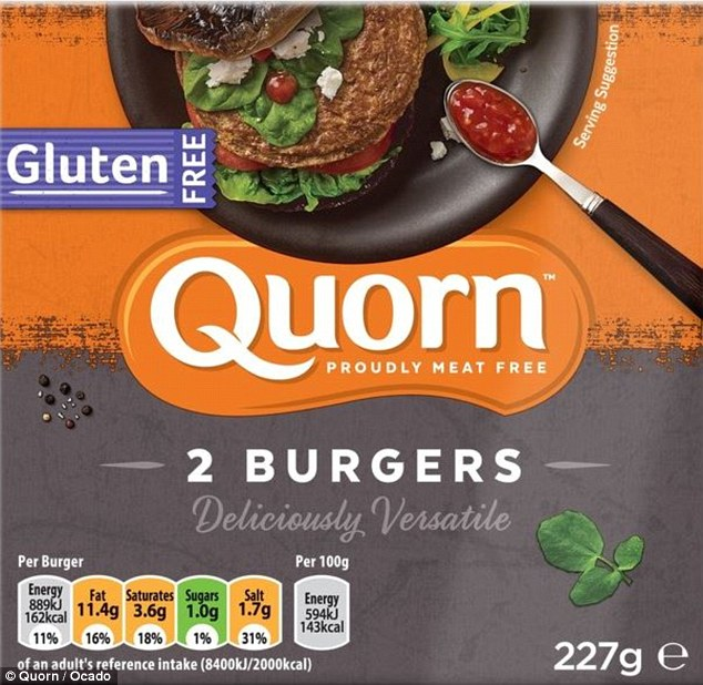 Some 6,500 packs of Quorn's gluten-free vegetarian burgers have been recalled by the company because they do in fact contain gluten, but there is no warning on the label