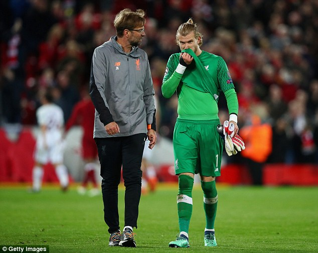 Klopp insists that the mistakes made by Loris Karius did not have an impact on Alisson's arrival