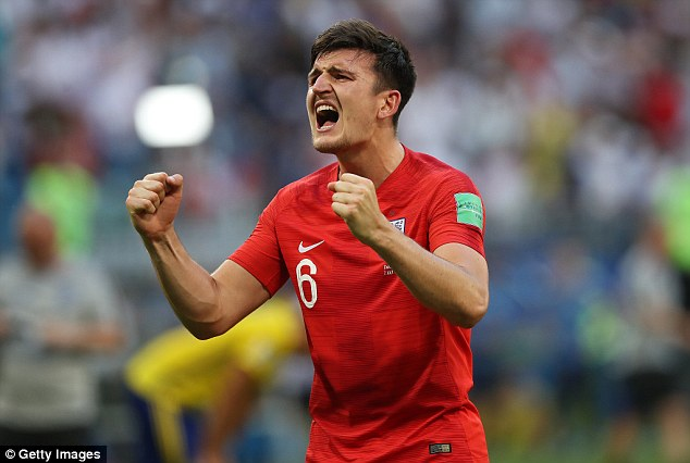 Jose Mourinho's side are ready to pay £65million for Maguire, who impressed at the World Cup