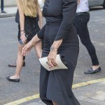 Kate Moss and Naomi Campbell best friend,Annabelle Nielson's funeral
