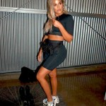 Khloe Kardashian flaunts curves in new line