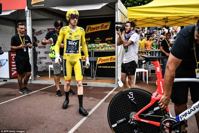 Thomas handled stage 20 in perfect fashion and has been a picture of calm throughout this gruelling Tour de France