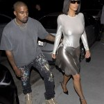 Kim Kardashian steps out without a bra for a date with Kanye West