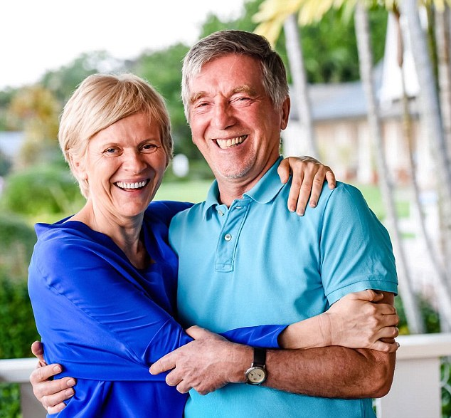 Jurgen Klein and his wife Karin (pictured) pioneered natural skincare brand JK7 after moving to Hawaii. They combined a selection of essential oils to create the world's most expensiveRejuvenating Serum-Lotion