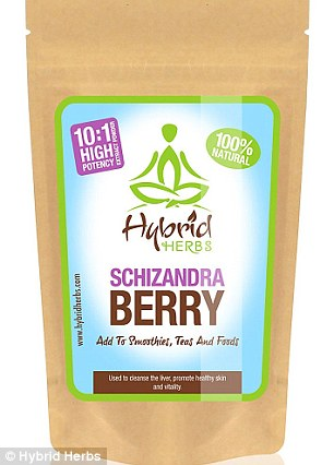 You can buy the berry powder from Holland and Barrett where a 57g pouch costs £15.99. It can then be added to smoothies, teas and other foods