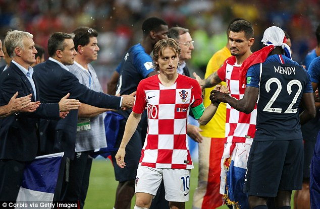 Modric's stock is high after he played a central role in England reaching the World Cup final