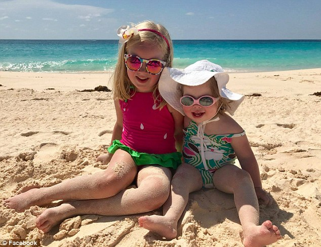 Annabel was diagnosed with epilepsy,but the anticonvulsant drugs she was given weren't treating her symptoms and simply made her 'groggy and withdrawn'. Pictured: Annabel, right, and her sister Clara