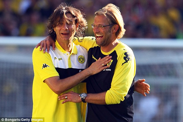 Zeljko Buvac was nicknamed 'The Brain' by Jurgen Klopp, who hailed his tactical knowledge