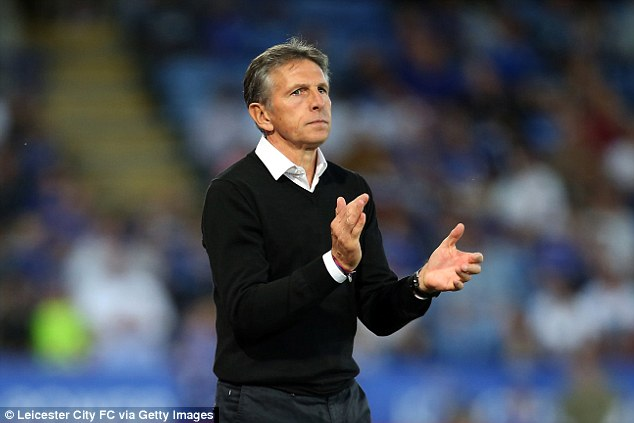 Foxes boss Claude Puel said the duo won't be facing Manchester United