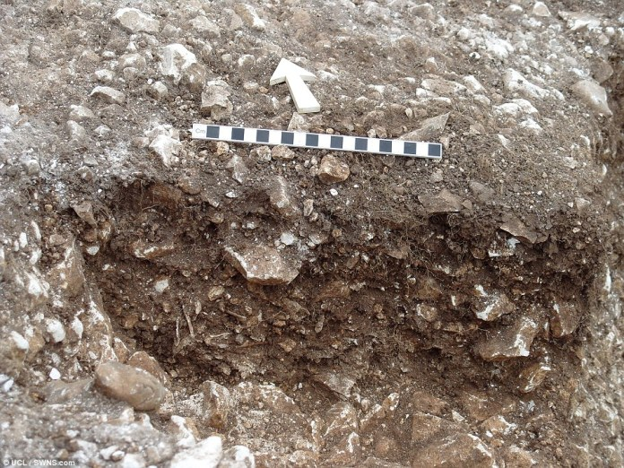 The bone fragments in the Aubrey Holes come from cremated human bone from an early phase of the site's history around 3000BC when it was mainly used as a cemetery