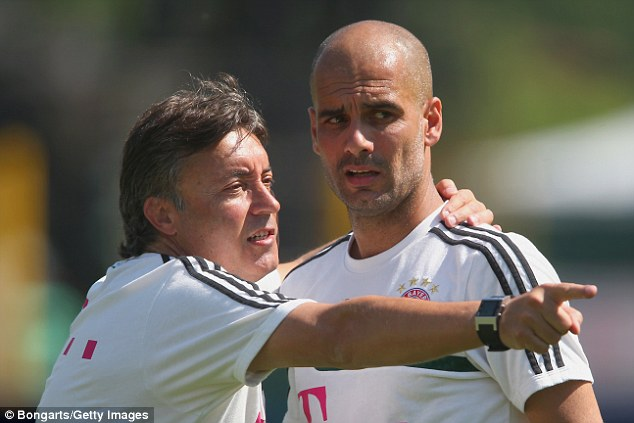 Domenec Torrent has been an assistant to Pep Guardiola at every club he has managed