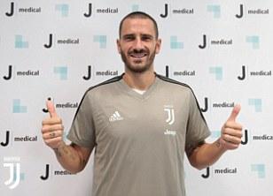 Leonardo Bonucci returns to Juventus