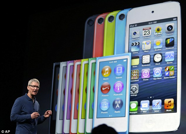 Apple was valued at $6billion when the first iPod came out in 2001 but the firm has since hit the $1trillion mark