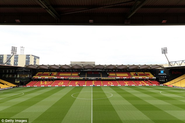 Watford will play Sampdoria in a friendly at Vicarage Road on Saturday afternoon