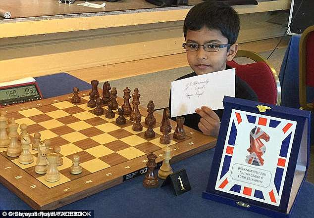 The 9-year-old chess prodigy is sent back to India when Dad's visa runs out