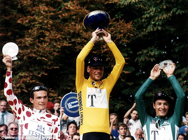 The former cyclist is known for being the only German to have won the Tour de France