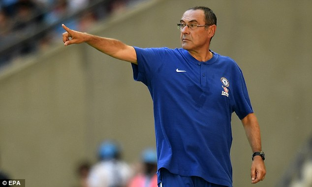 Sarri was due to speak with the Chelsea goalkeeper on Monday at the club's training ground