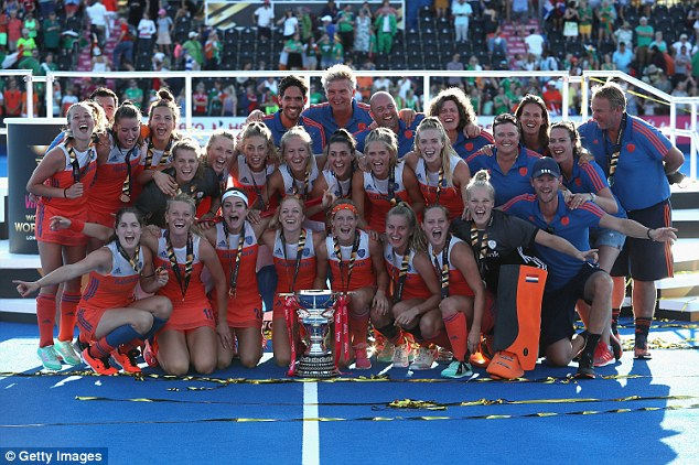 The Dutch won the competition for a record eighth time after emphatically beating Ireland