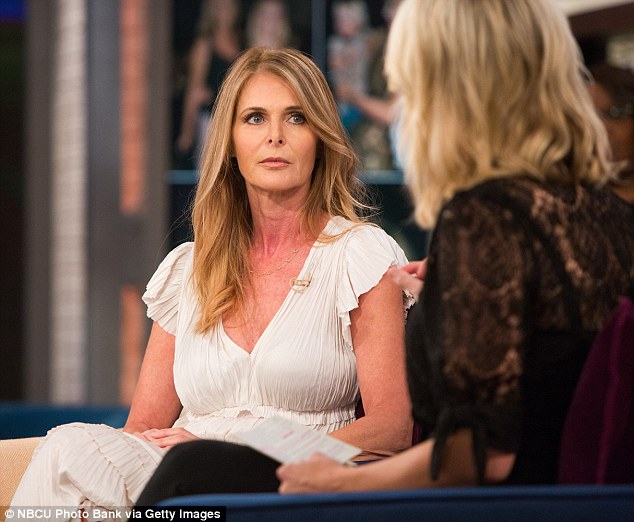 Dynasty star Catherine Oxenberg has revealed in an interview with NBC's Megyn Kelly that her daughter India is branded with Nxivm leader Keith Raniere's initials
