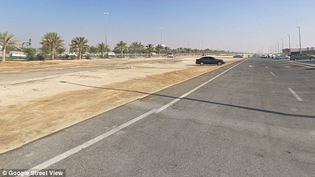 The tourist sped his rented Lamborghini Huracán on Sheikh Zayed Road (pictured)