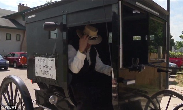 ¿Uber is a cool thing, every single year something new comes in and Uber is hot right now, so we have the Amish Uber,¿ Hochstedler told WWMT . ¿We can deliver people to their front door steps¿