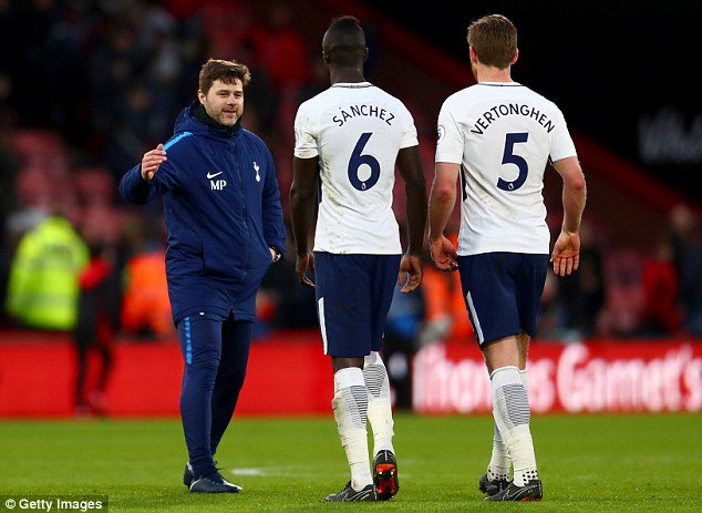 Pochettino has been able to rely on his players in big games in the Premier League and Europe