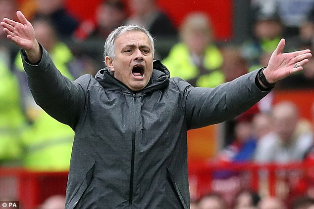 Jose Mourinho's Manchester United were one of the luckiest Premier League teams last season