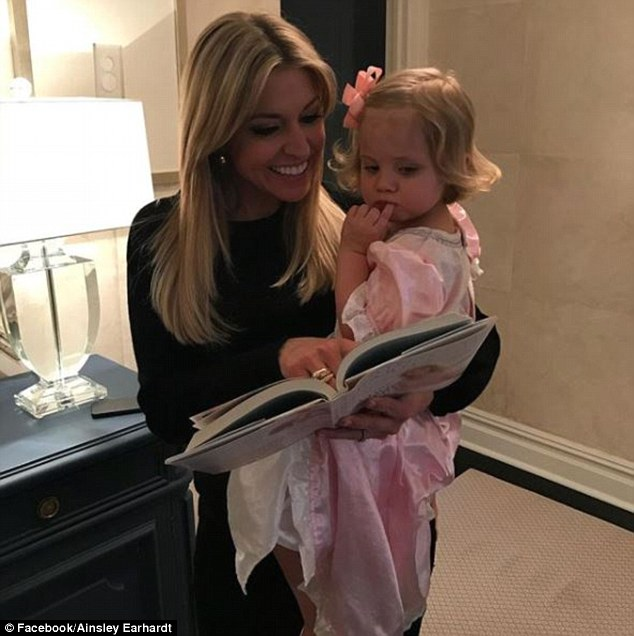 She is a mom-of-one to two-year-old daughter, Hayden (pictured with her)