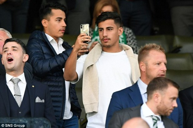 On Wednesday evening, Arzani was spotted at Celtic Park where he could be heading on loan