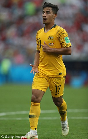 While he is considered a top talent by City, the Australian is expected to be sent out on loan