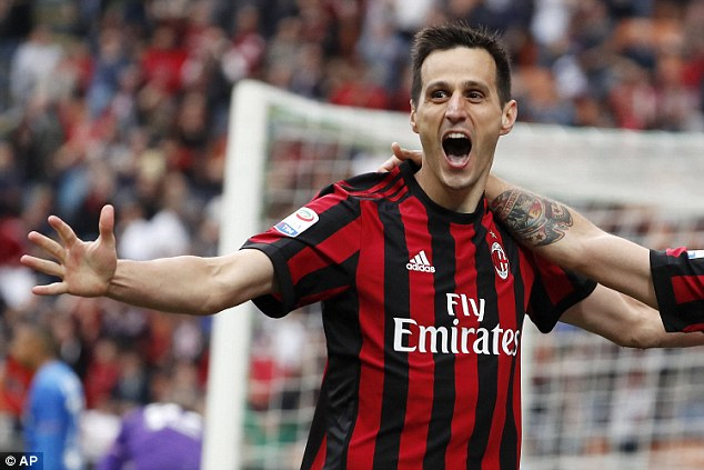 Kalinic struck six goals in 20 starts for AC Milan in Serie A last season and will be third choice