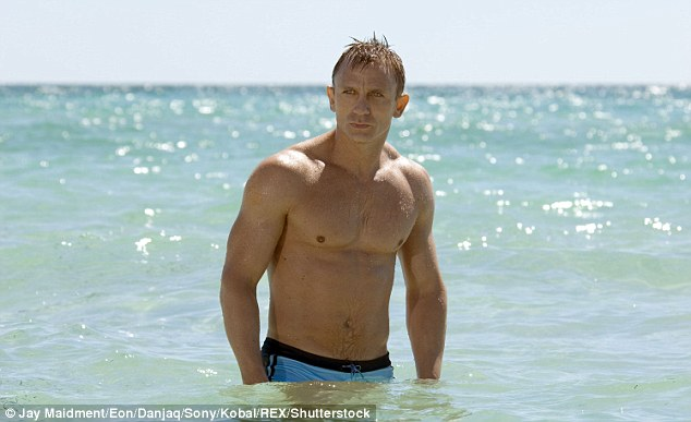 Iconic role: Speculation continues over who will take over from Daniel Craig after he leaves the franchise (pictured in Casino Royale in 2006)