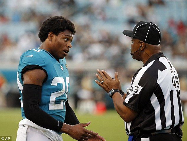 Florida: Jalen Ramsey, cornerback for the Jacksonville Jaguars, stayed in the locker room during the anthem along withlinebacker Telvin Smith