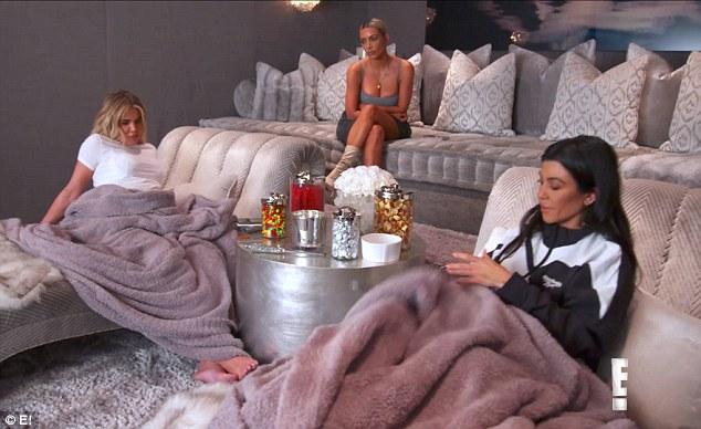Im Krieg: Die Fehde zwischen den Schwestern geht diesen Sonntag weiter mit den Kardashians