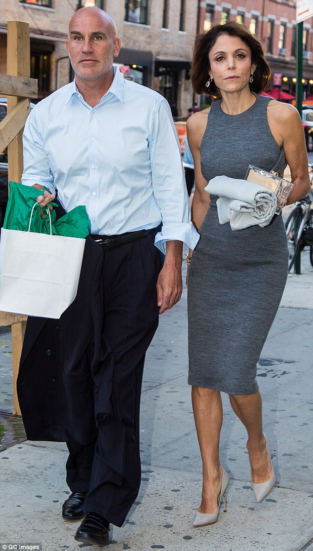 Bethenny Frankel said Dennis Shields (pictured together in 2016) wasn't Mr Right on an episode of Real Housewives of New York just two days before his death