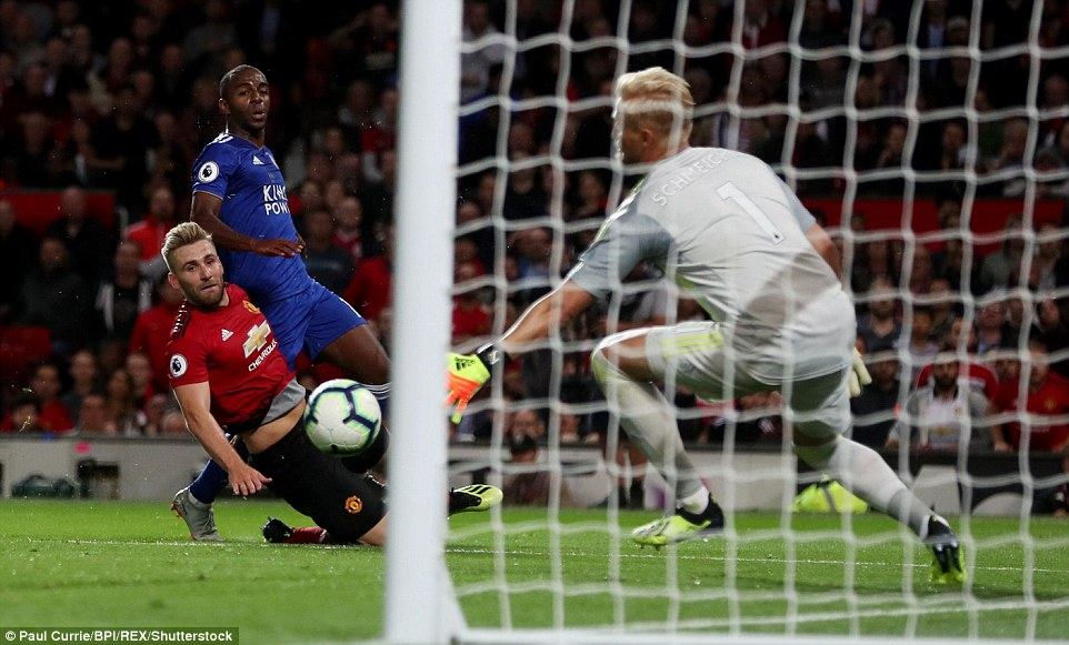 United struggled to build on their lead for long periods before left back Luke Shaw made the three points safe with this goal
