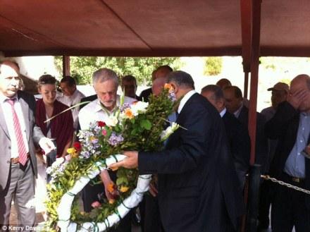 corbyn palestinian cemetery