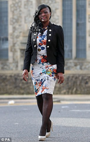 AChristian nurse, Sarah Kuteh (pictured), was sacked from an NHS hospital for daring to suggest that a patient she was treating might like to go to church